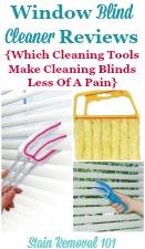 Window Blind Cleaner Reviews