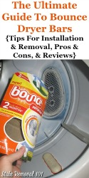 Bounce Dryer Bar Reviews