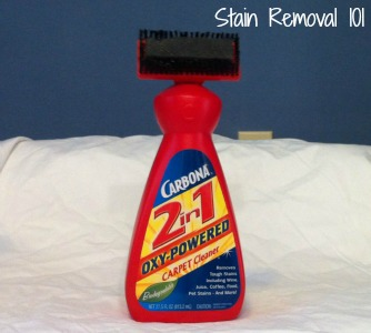 Carbona Carpet Cleaner Review 2 In 1 Oxy Powered With