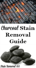 Remove Charcoal Stains