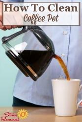 Clean Coffee Pot