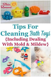 Cleaning Bath Toys