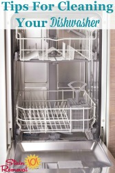 Cleaning Dishwasher