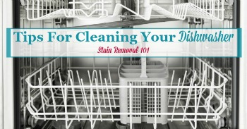 Tips for cleaning dishwasher