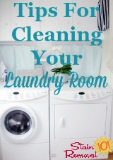 Cleaning Your Laundry Room
