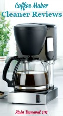Coffee Maker Cleaners