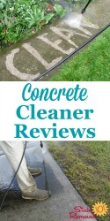 Concrete Cleaners & Stain Removers