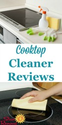 Cooktop Cleaner & Stove Top Cleaner Reviews