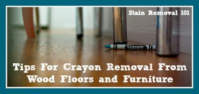 Crayon Removal From Wood Floors Amp Furniture