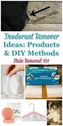 Deodorant Remover