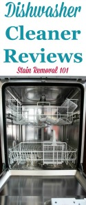 Dishwasher Cleaners Reviews