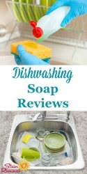 Dishwashing Soap And Detergent Reviews