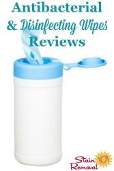 Antibacterial & Disinfecting Wipes Reviews
