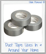 duct tape uses around your home