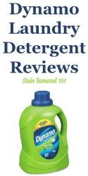 Dynamo Laundry Detergent Reviews