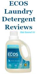Ecos Laundry Detergent Reviews