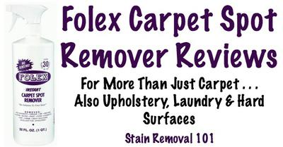 Folex Carpet Spot Remover Reviews And Uses