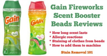 Gain Fireworks scent booster beads reviews