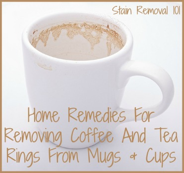 how to remove coffee tea rings from mugs cups. Black Bedroom Furniture Sets. Home Design Ideas