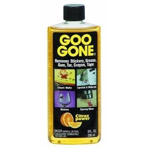 Goo Be Gone With Goo Gone Uses For Removing Sticky Messes