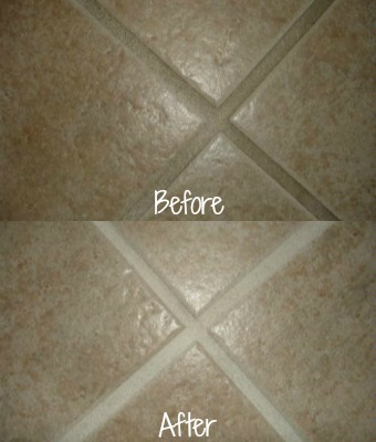 Grout Cleaning With The Magic Eraser: Before U0026 After Pics