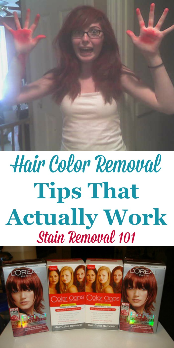 Hair Color Removal Tips That Work