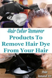 Products To Remove Hair Dye