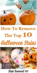 Top 10 Halloween Stains