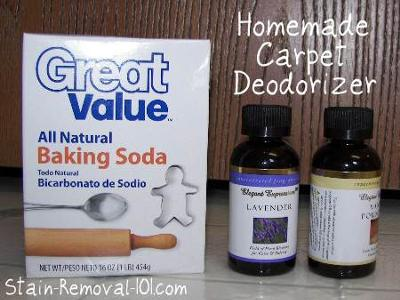 Homemade Carpet Deodorizer Recipes Using Natural Ingredients
