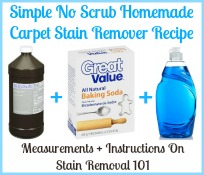 homemade carpet stain remover recipe