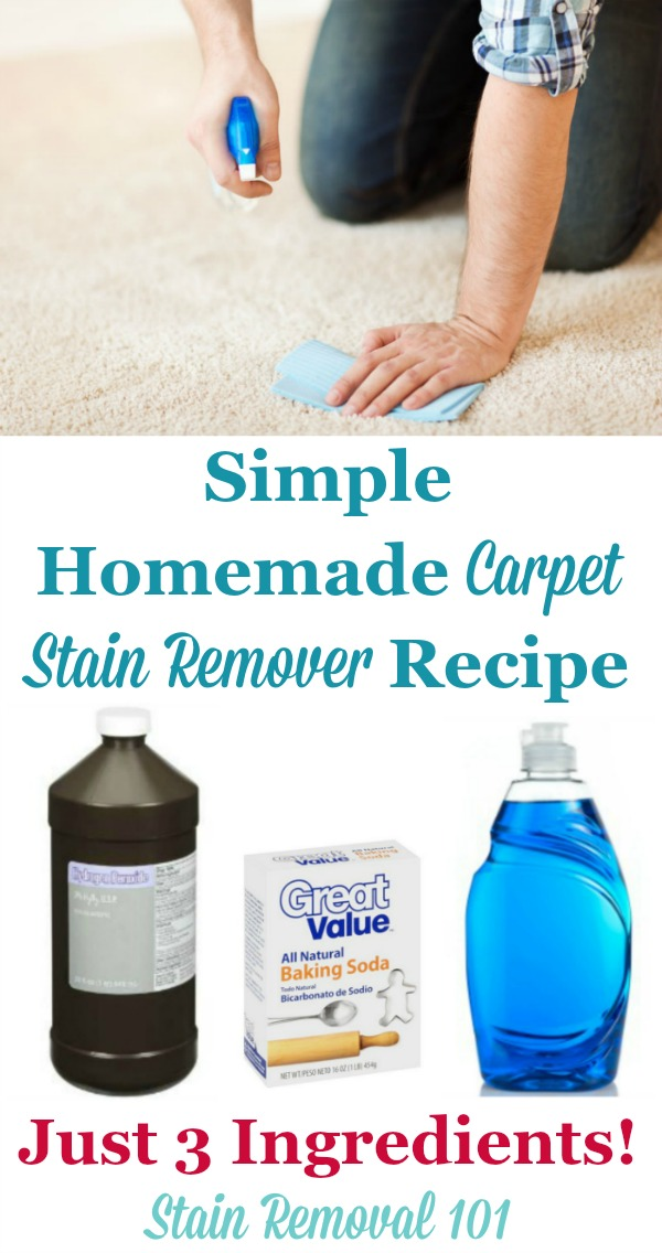 Homemade carpet stain remover recipe simple no scrub solutioingenieria Gallery