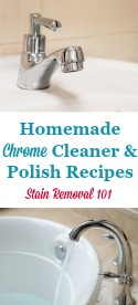 Homemade Chrome Cleaner Recipe