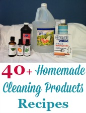 Homemade Cleaning Products Recipes