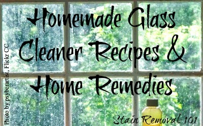 Homemade Gl Cleaner Recipes Home Remes