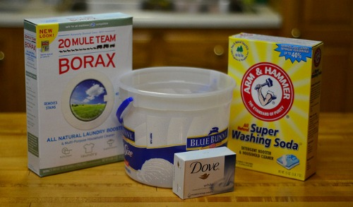 homemade powder laundry detergent ingredients