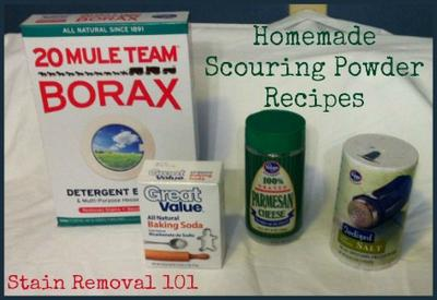 Homemade Scouring Powder Recipes: Abrasive Cleaners