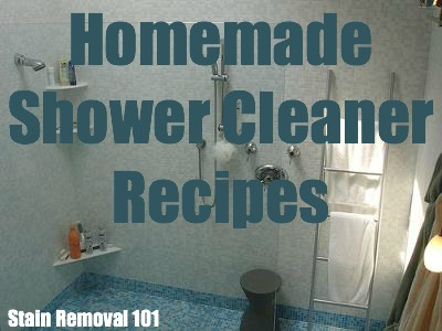 Homemade Shower Cleaner Recipes For Daily Use Amp Heavy Duty