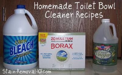 Exceptionnel Homemade Toilet Bowl Cleaner Recipes And Home Remedies