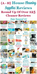 House Cleaning Supplies Reviews