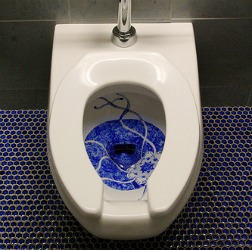 How To Remove Stains Caused By Lysol Cling Gel Toilet Bowl
