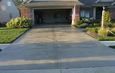 Removing oil stains from concrete tips instructions for Remove stains from concrete driveway