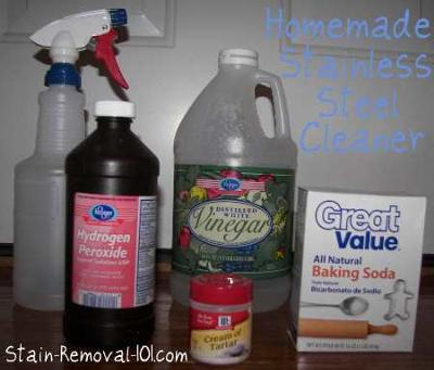 Stainless Steel Cleaner & Polish Recipes