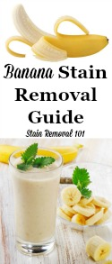 How To Remove A Banana Stain