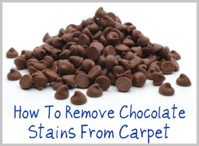 how to remove chocolate stains from carpet. Black Bedroom Furniture Sets. Home Design Ideas