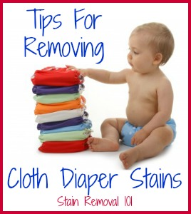 How To Remove Cloth Diaper Stains