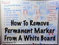 How To Remove Permanent Marker From White Board