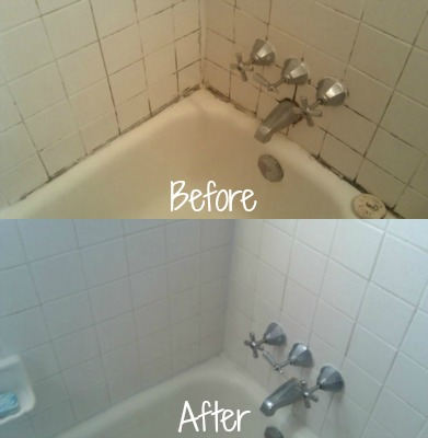 How X 14 Mildew Stain Remover Worked On Bathtub Tiles Grout