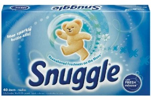 Image result for snuggle dryer sheets