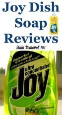 Lemon Joy Dish Soap Review