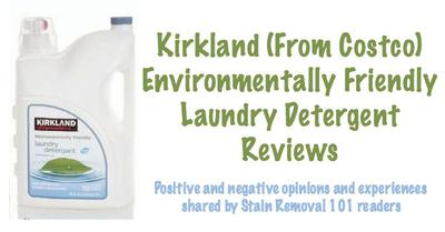 Kirkland Environmentally Friendly Laundry Detergent From Costco Review